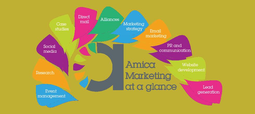 Amica Marketing range of services